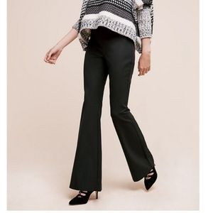 "Anthropologie | Black ""The Essential Flare"" Pants"
